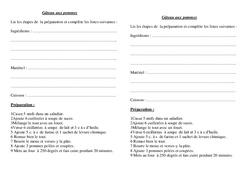 Texte injonctif  – Ce2 – Cm1 -Exercices – Ecriture – Rédaction – Cycle 3