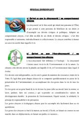 Dossier eco-citoyen – Cm1 cm2  -2-