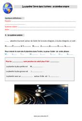 Système Solaire - Ce2 - Leçon