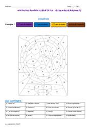 Impératif – Cm2 – Coloriage magique
