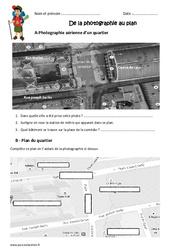 De la photographie au plan - Ce2 - Exercices