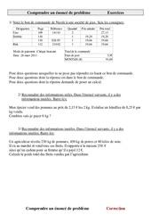 Comprendre un énoncé de problème - Problèmes - Cm2 - Exercices - Cycle 3     -2 -