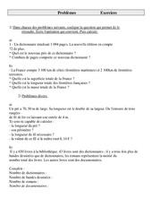 Problèmes – Ce2 – Exercices – Cycle 3  -2-
