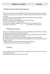 Durées - Problèmes - Cm2 - Exercices - Cycle 3   -2 -