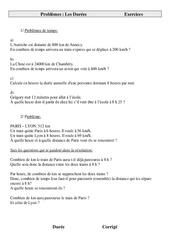 Durées - Problèmes - Cm2 - Exercices - Cycle 3  -1