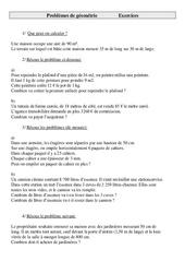 Problèmes de Géométrie - Cm1 - Cycle 3     -2-