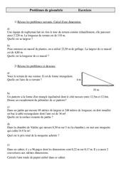 Problèmes de Géométrie - Cm2 - Cycle 3    -2 -