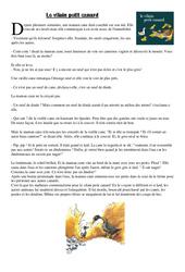 CE2 Lecture - Compréhension - Rédaction: Le vilain petit canard