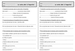 Conjuguer le verbe aller à l'imparfait - Ce1 - Exercices de conjugaison