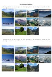 Les montagnes - Ce2 - Cm1- Exercices  -2-