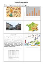 Les outils du géographe – Ce2 – Exercices