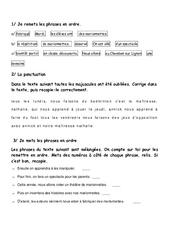 Phrase - Ce1 - Exercices - Grammaire