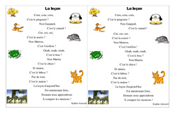 Poésie - La rentrée - Ce2 - La leçon - Poésie cycle 3