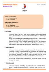Plan – Moyenne section – Fiche de préparation