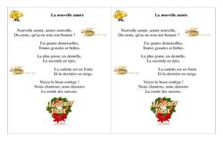 La nouvelle année - Poésie, poème - Ce1 - Nouvel an - Cycle 2