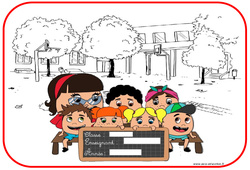 Affiche de porte - Trucs et astuces de classes - Outils pour la classe