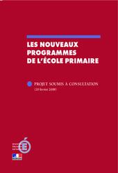 Nouveaux programmes de l'école primaire – B.O –   Bulletin officiel