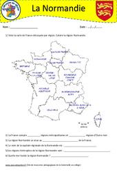 Normandie – Cm1 – Cm2 – Je découvre ma région