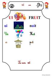 Le son ui  - Cp - Etude des sons - Lecture - Cycle 2