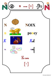Le son [n] – Cp – Etude des sons – Lecture – Cycle 2