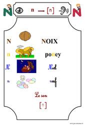 Le son [n] - Cp - Etude des sons - Lecture - Cycle 2