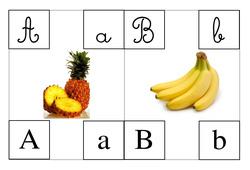 Abécédaire illustré – Cp – Les lettres –  Cycle 2