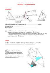 Volumes – 4ème – Grandeurs et Mesures – Exercices – Contrôle – Mathématiques – Collège