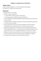Programmes contruction - Figures - 6ème - Cours  Géométrie - Mathématiques - Collège