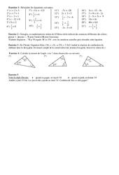 Equations du premier degré -  4ème - Exercices - Numération - Collège