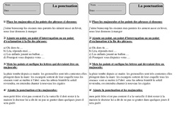 Exercice Ponctuation : CE1 - Cycle 2 - Pass Education