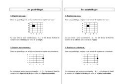 Quadrillages – Ce2 Cm1 Cm2 – Leçon