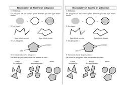 Polygones – Ce2 Cm1 Cm2 – Leçon