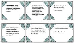 Une nouveauté à tester à la rentrée – Billets rituels – logico mathématiques