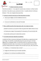 Phrase – Ce2 – Exercices à imprimer
