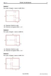 Échelles - 5ème – Exercices corrigés – Mathématiques – Collège – Soutien scolaire