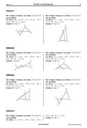 Théorème de Thalès – 3ème – Exercices corrigés – Mathématiques – Collège – Soutien scolaire