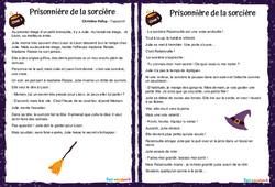 Prisonnière de la sorcière – Lecture suivie – Cycle 2 – Cycle 3 – Halloween