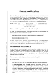 Phrases – 6ème – Cours – Exercices corrigés – Grammaire – Soutien scolaire – Collège