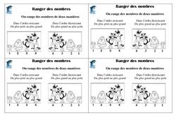 Ranger des nombres  – Ce1 – Leçon