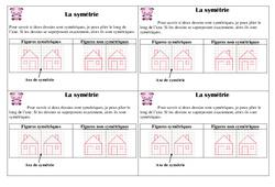 Symétrie – Ce1 – Leçon