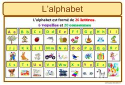 Alphabet – CP – Affiche pour la classe