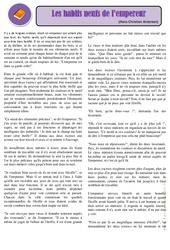 Les habits neufs de l'empereur – Cm1 – Conte – Lecture – Cycle 3