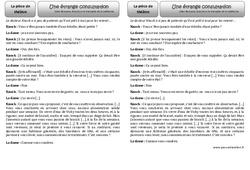 Une étrange consultation – Ce2 – Texte théâtrale – Lecture – Cycle 3