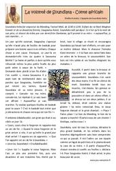 La volonté de Soundiata - Conte africain- Cm1 - Cm2 - Lecture - Contes du monde - Cycle 3