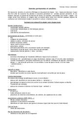 Liste des données sensibles à conserver - Directeurs / Direction d'école