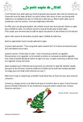 Le petit sapin de Noël – Lecture – Conte – Cp – Ce1 – Cycle 2