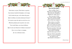 Poèmes de Noël – Cycle 2 – Cycle 3  – Vie de la classe