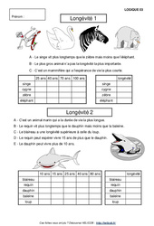 Problèmes de logique – Cm2 – Mathématiques – Exercices et correction – Cycle 3
