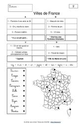 Géocharades - Cm1 - Cm2 -Géographie ludique - Cycle 3