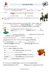 Sujet du verbe – Cm2 – Leçon